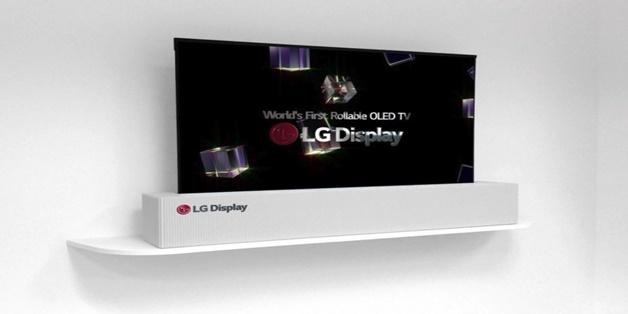 [CES 2018] LG công bố mẫu TV OLED 65 inch có thể cuộn lại như tờ giấy