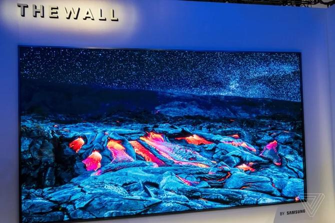 (CES 2018) Samsung công bố chiếc TV MicroLED 146 inch với thiết kế dạng mô đun