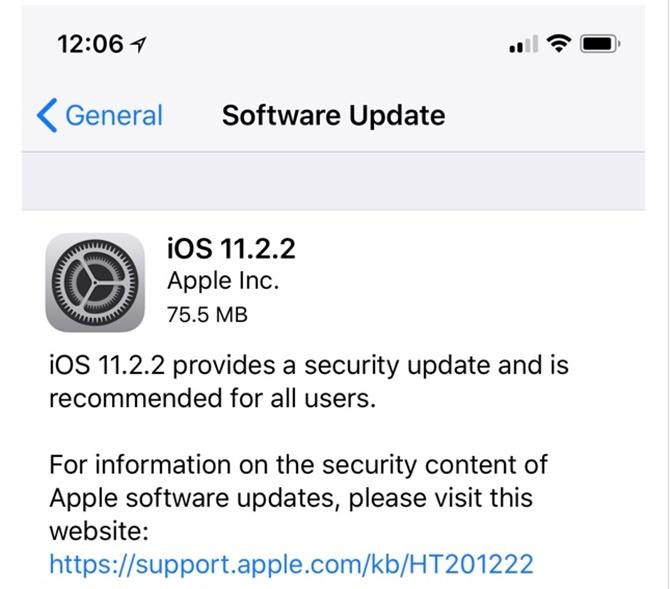 Apple phát hành bản cập nhật iOS 11.2.2 và macOS 10.13.2 để giảm ảnh hưởng từ lỗ hổng Spectre