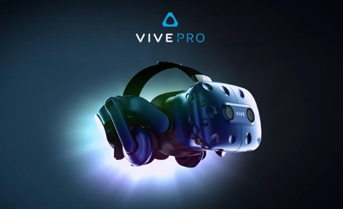 [CES 2018] HTC trình làng thiết bị đeo Vive Pro VR với độ phân giải 3K