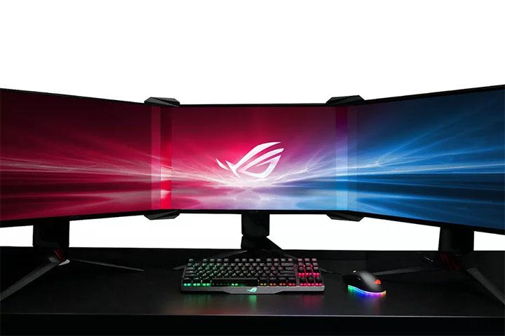 [CES 2018] Công cụ của Asus giúp ghép nhiều màn hình thành một màn không viền