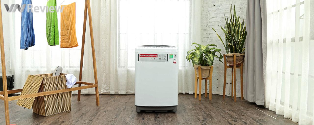 Thử nghiệm ứng dụng công nghệ Inverter trên máy giặt lồng đứng LG