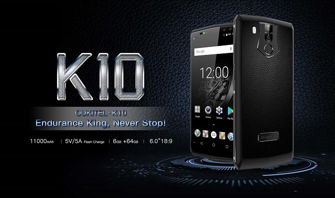 """Smartphone pin 11000mAh có thể """"trụ"""" tới 21 giờ xem video online"""