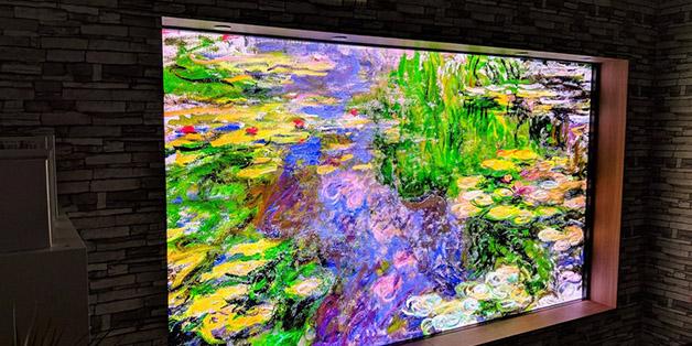 [CES 2018] Đây là chiếc TV khổng lồ 146-inch của Samsung có thể thay đổi kích cỡ