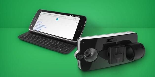 Motorola giới thiệu 2 phụ kiện Moto Mods mới tại CES 2018, có cả bàn phím QWERTY