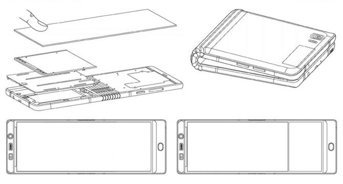"""[CES 2018] Samsung giới thiệu bản """"gần hoàn thiện"""" của Galaxy X cho đối tác"""