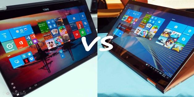 So sánh 2 laptop chuyển đổi ấn tượng nhất CES 2018