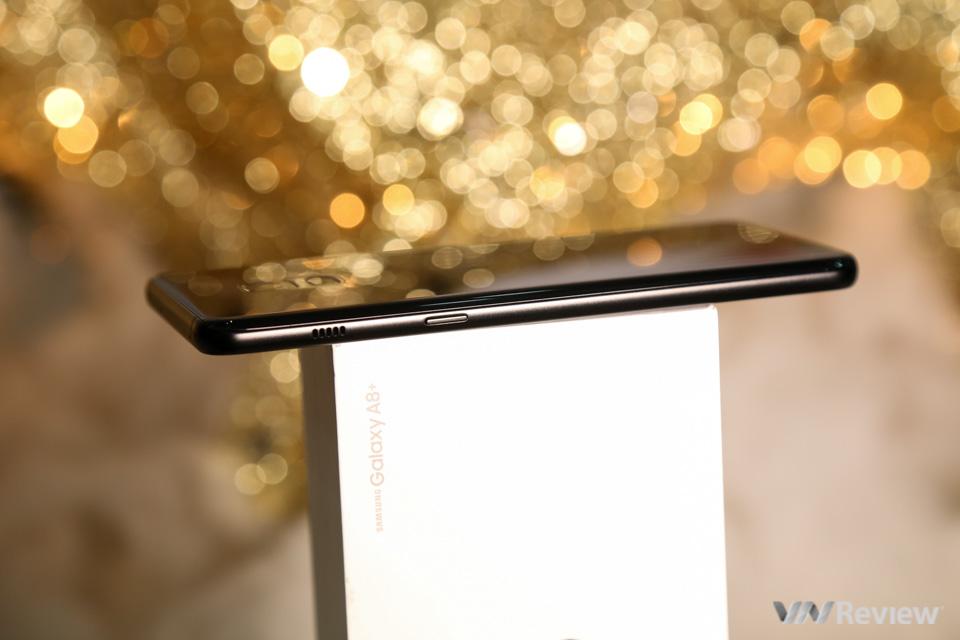 Mở hộp và trên tay Samsung Galaxy A8+ (2018): mở khóa khuôn mặt, selfie xóa phông - ảnh 24