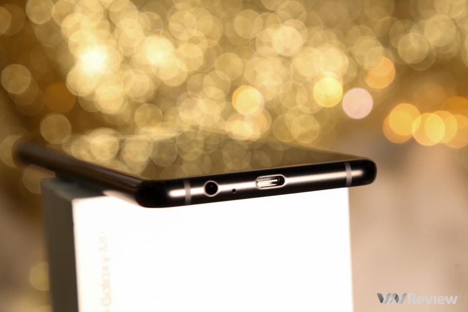 Mở hộp và trên tay Samsung Galaxy A8+ (2018): mở khóa khuôn mặt, selfie xóa phông - ảnh 25