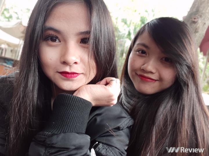Mở hộp và trên tay Samsung Galaxy A8+ (2018): mở khóa khuôn mặt, selfie xóa phông - ảnh 10
