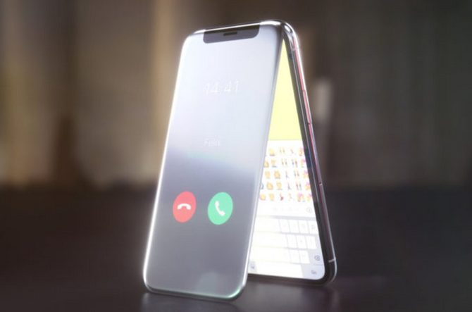 Sẽ ra sao nếu iPhone X là một chiếc điện thoại nắp gập? - ảnh 1