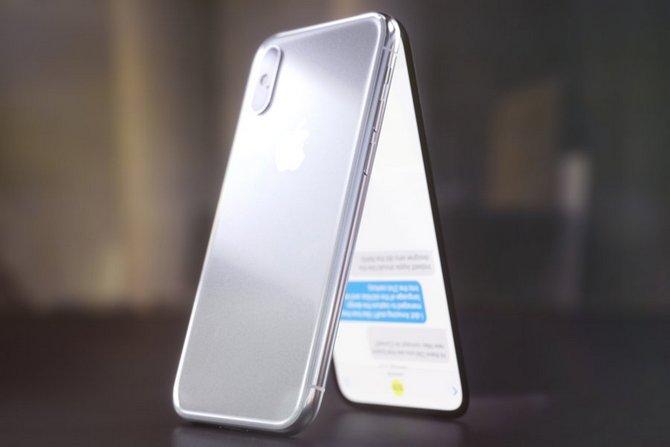 Sẽ ra sao nếu iPhone X là một chiếc điện thoại nắp gập? - ảnh 2