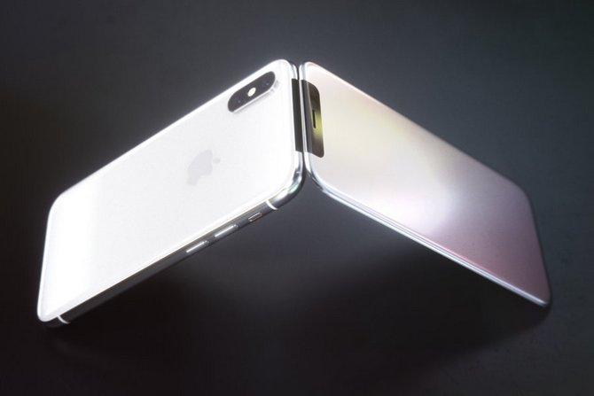 Sẽ ra sao nếu iPhone X là một chiếc điện thoại nắp gập? - ảnh 6