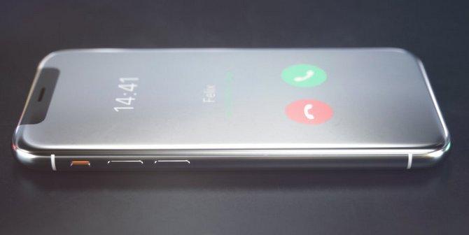 Sẽ ra sao nếu iPhone X là một chiếc điện thoại nắp gập? - ảnh 7
