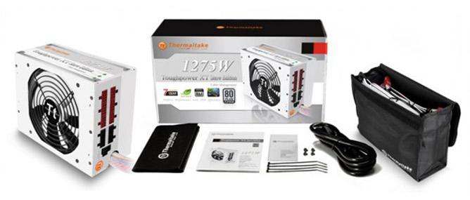 Bộ nguồn công suất khổng lồ Toughpower XT 1275W Platinum Snow Edition