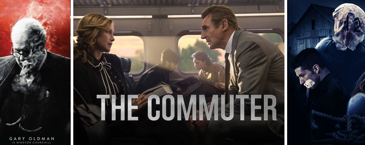 Phim chiếu rạp trong tuần: Kỳ vọng ở The Commuter và Darkest Hour