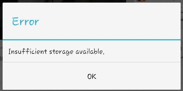 Cách sửa lỗi bộ nhớ không đủ trên Android