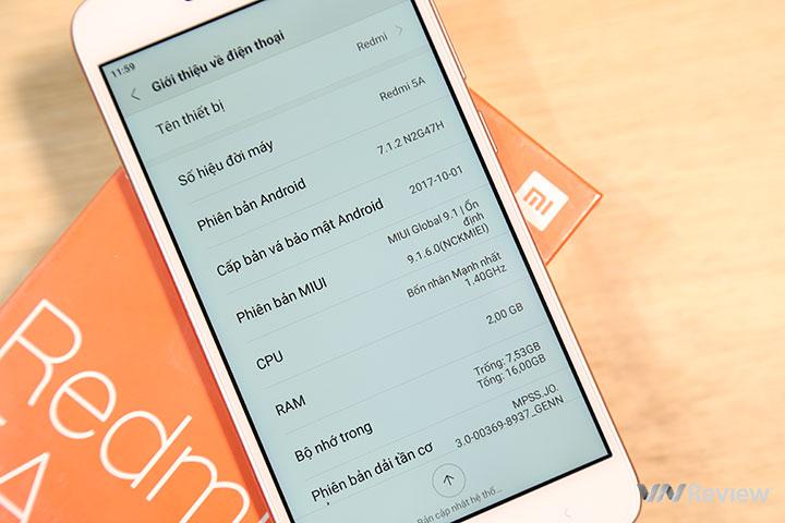 Đánh giá Xiaomi Redmi 5A: Mức giá làm nên tất cả - ảnh 29