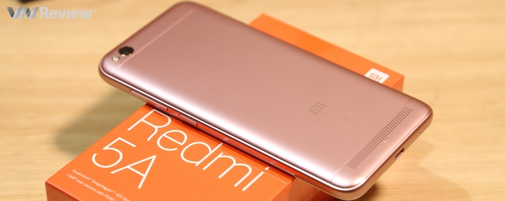 """Trên tay Xiaomi Redmi 5A: smartphone """"ôm mộng bá chủ"""" phân khúc giá rẻ ở VN"""