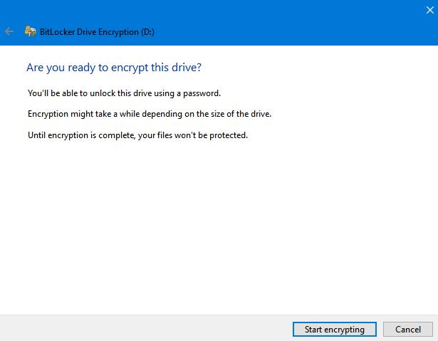 Không cần cài thêm phần mềm, bạn vẫn có thể đặt mật khẩu mã hóa ổ đĩa USB, thẻ SD trên Windows 10