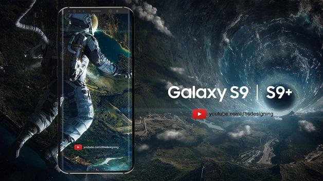 Ảnh ý tưởng Samsung Galaxy S9: màn hình cong tràn ba cạnh tuyệt đẹp nhưng chỉ là mơ thôi