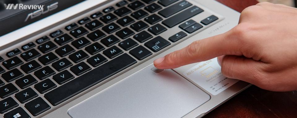 Đánh giá nhanh Asus Vivobook S410: mỏng nhẹ, mở khóa vân tay, vi xử lý Intel Core đời 8
