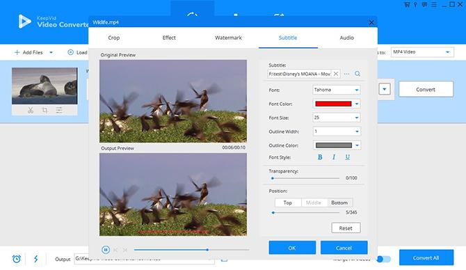 Cách đơn giản để chỉnh sửa, chuyển định dạng và thêm phụ đề cho video