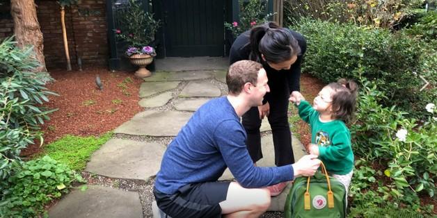 Ông trùm Facebook khoe ảnh con gái ngày đầu đi học mẫu giáo đầy ngộ nghĩnh