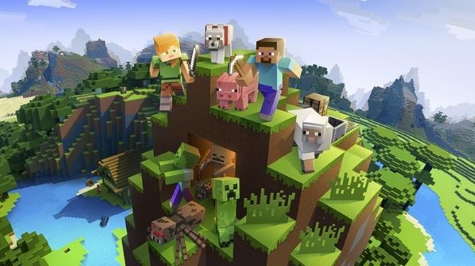 Minecraft cán mốc 74 triệu người chơi