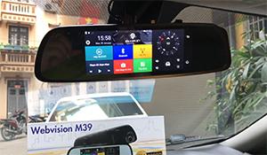 Đánh giá camera hành trình Webvision M39: camera kép, vừa giám sát vừa phát Wi-Fi