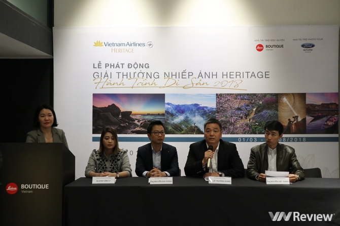 Chính thức phát động giải thưởng nhiếp ảnh Heritage – Hành trình di sản 2018