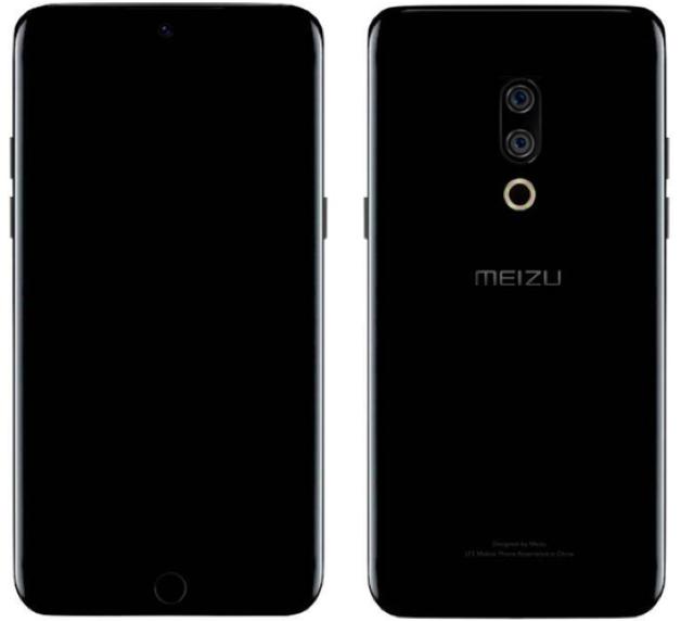 Lộ ảnh dựng Meizu 15 với màn hình cong, camera kép