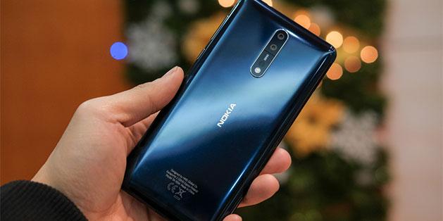 Nokia 8 vừa hạ giá còn 9,99 triệu đồng, thậm chí có nơi bán có 8,49 triệu đồng