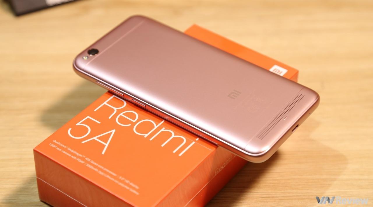 Đánh giá Xiaomi Redmi 5A