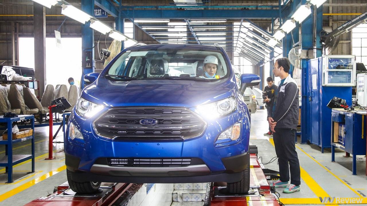 Ford EcoSport 2018 chính thức xuất xưởng, chưa công bố giá bán