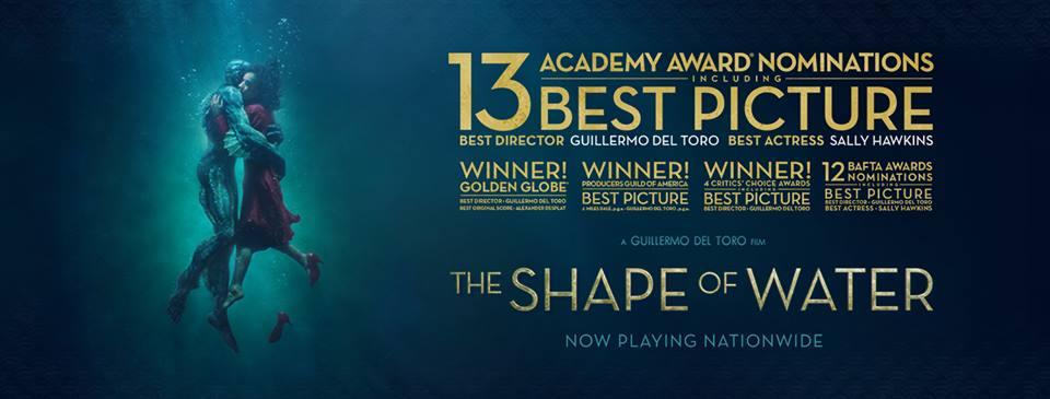 Đánh giá phim Shape of Water: Bản tình ca vượt cả giống loài