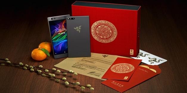 Razer ra mắt phiên bản Razer Phone Gold Edition cho dịp tết âm lịch