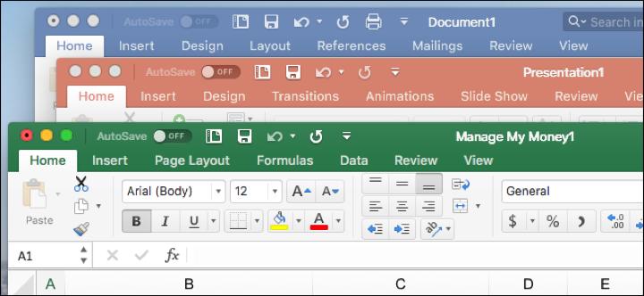 Microsoft Office trên Windows và macOS có gì khác nhau?