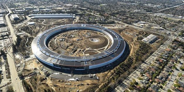 Dạo một vòng quanh bên trong trụ sở phi thuyền Apple Park trị giá tỷ đô