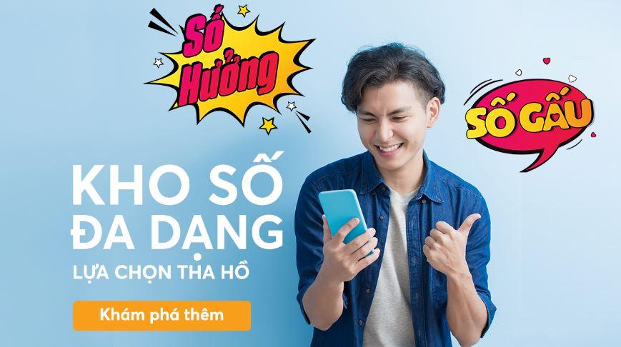 Vietnamobile ra mắt dịch vụ chọn số đẹp trực tuyến, giá 50.000 đồng