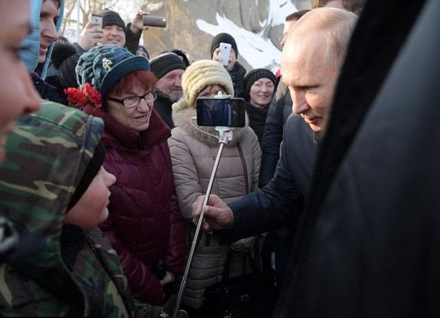 Tổng thống Nga Vladimir Putin: