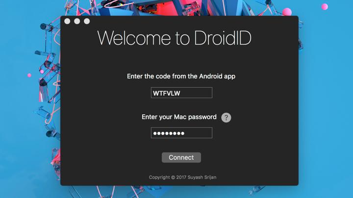 Mẹo mở khóa máy Mac bằng smartphone Android