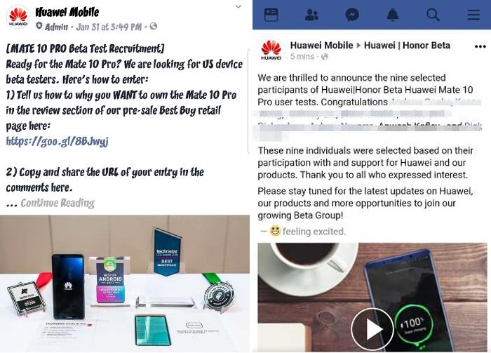 Huawei dính phốt thuê người review ảo cho flagship Mate 10 Pro - ảnh 2