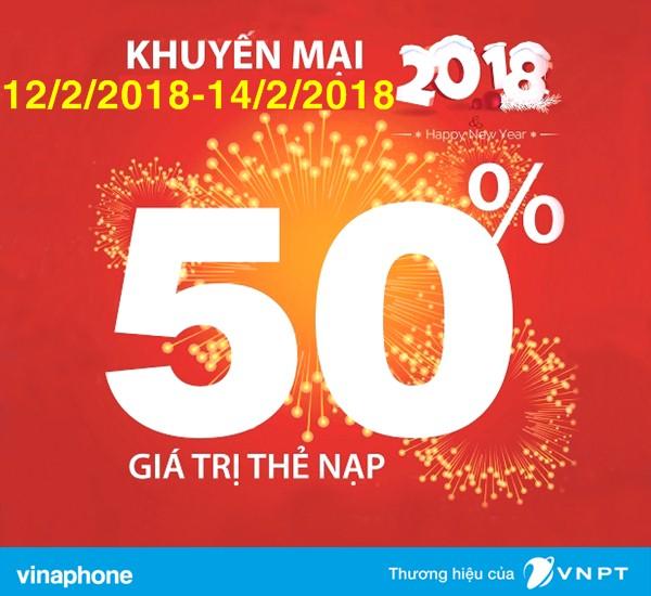"""3 ngày liên tiếp ''Siêu bão Ngày vàng"""" của VinaPhone đón Tết Nguyên đán 2018"""