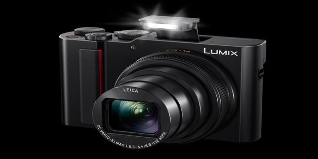 Panasonic ra mắt máy ảnh siêu zoom ZS200: Ống kính Leica, tiêu cự tối đa 360mm