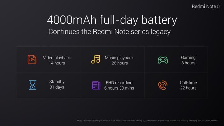 Xiaomi ra mắt Redmi Note 5: màn hình 18:9, Snapdragon 625, giá 3,5 triệu - ảnh 6