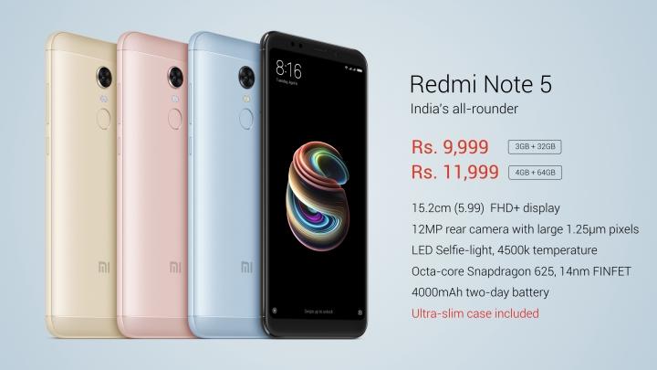 Xiaomi ra mắt Redmi Note 5: màn hình 18:9, Snapdragon 625, giá 3,5 triệu - ảnh 7
