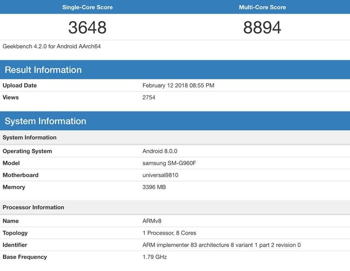 Galaxy S9 dùng chip Exynos 9810 chạy nhanh hơn chip Snapdragon 845? - ảnh 2