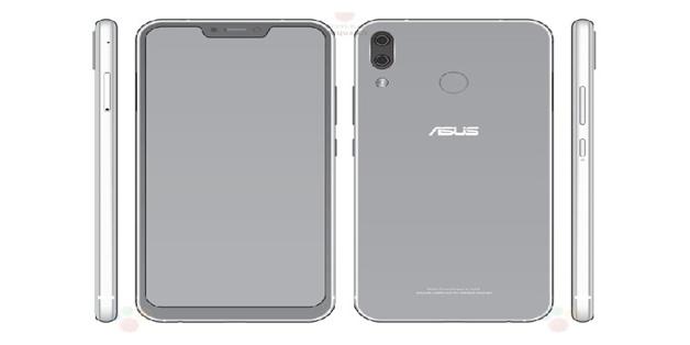 """ZenFone 5 lộ thông số và thiết kế """"tai thỏ"""" như iPhone X"""