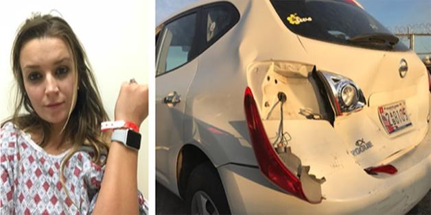 Nhờ Apple Watch, hai mẹ con được cứu mạng khỏi tai nạn xe hơi